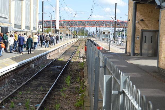 Platform 6, Cambridge Station