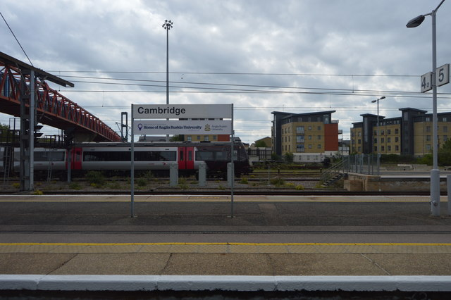 Platforms 4 & 5, Cambridge Station