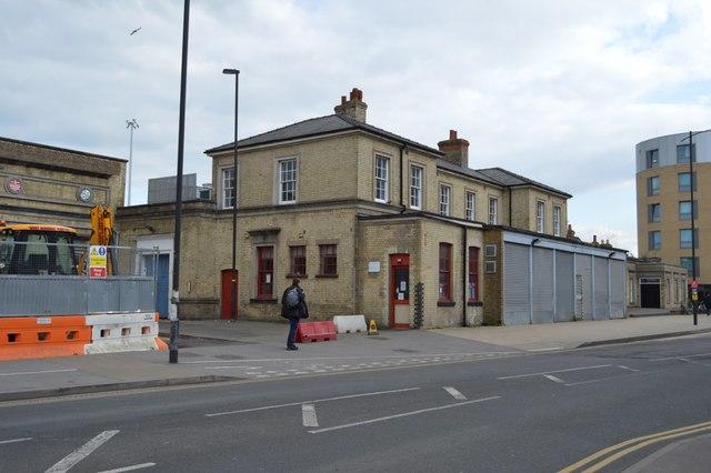 Station buildings, Cambridge Station