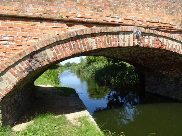 Bridge 79 Hodson's Bridge Chesterfield Canal Misterton Notts