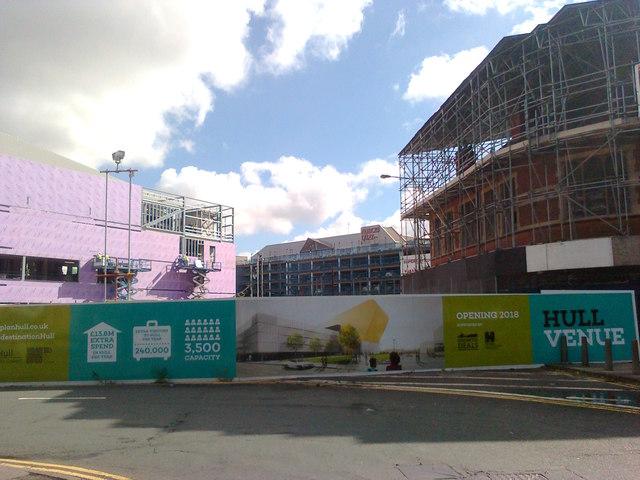 Construction on Myton Street