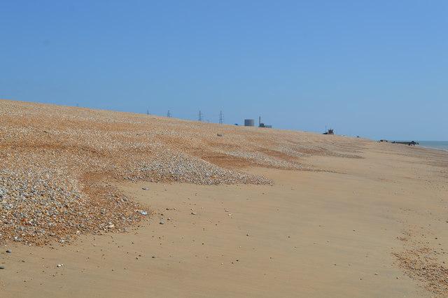 Beach cusps, Dungeness