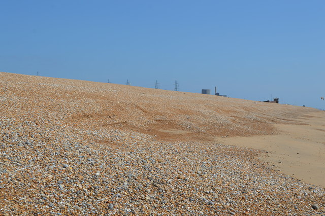 Shingle, Dungeness beach