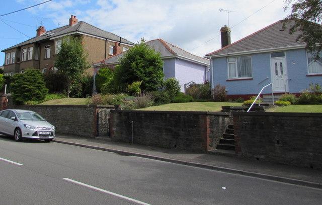 Change of house type, Wentloog Road, Rumney, Cardiff