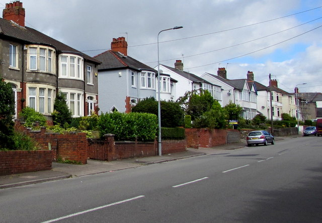 Wentloog Road semis, Rumney, Cardiff