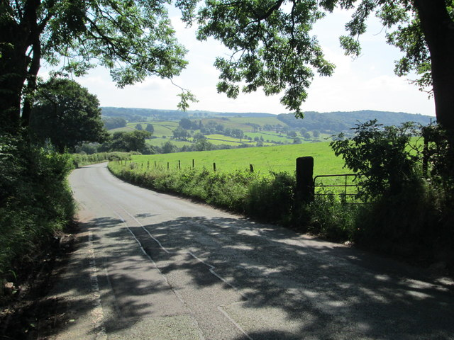 Beat Lane near Ryecroft Gate