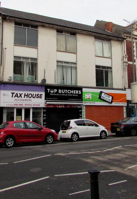 Top Butchers, Commercial Street, Newport