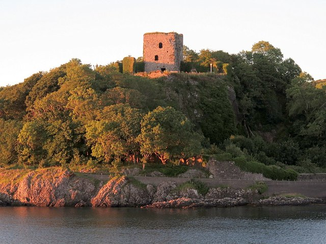 Dunollie Castle from the Oban Ferry