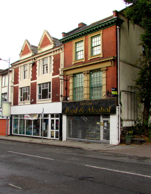 Low Cost Food & Alcohol shop, Commercial Street, Newport