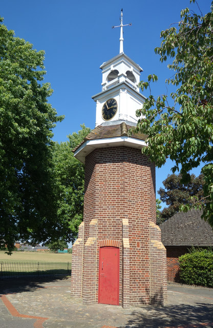 Clock Tower in the Park