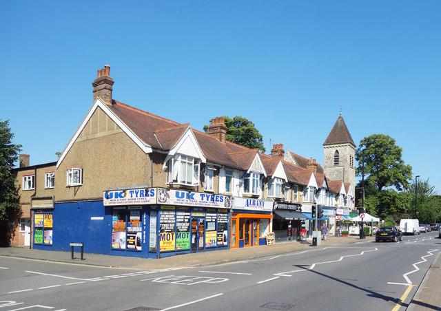 Shops, Church Road, Ashford