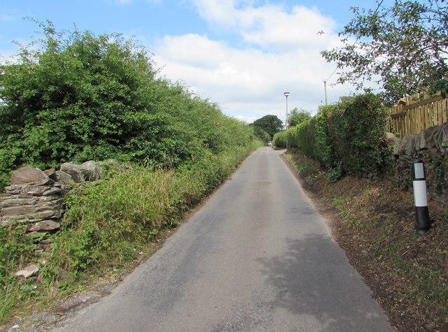 Nibley Lane towards Iron Acton, South Gloucestershire