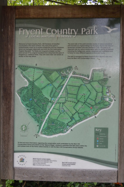 Information Board, Fryent Country Park