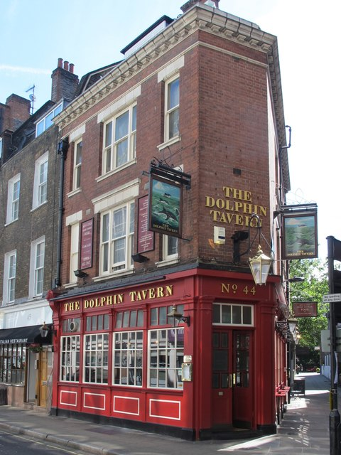 The Dolphin Tavern, Red Lion Street, WC1