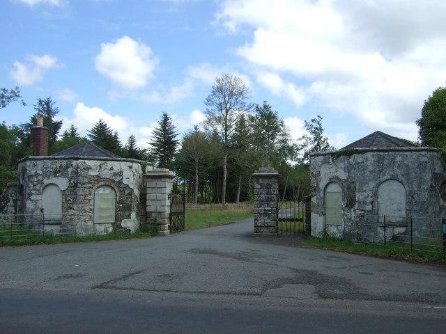 Gatehouses to Trelowarren Estate
