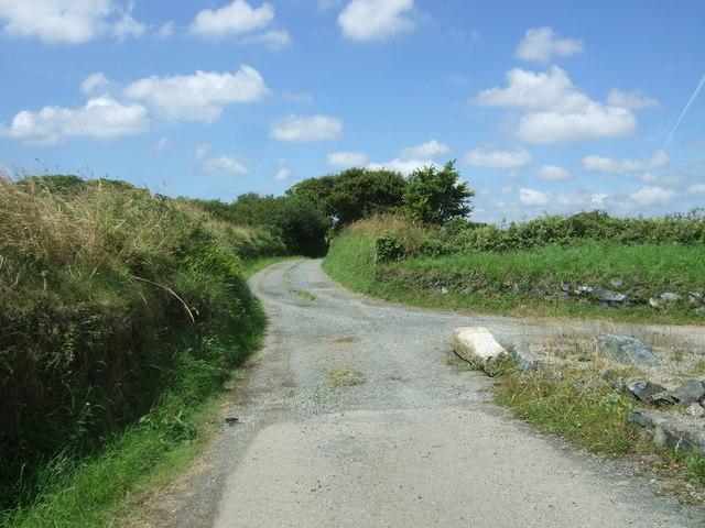 Track to Chygarkye