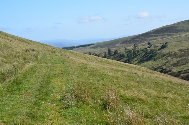 Track on Muckle Knock