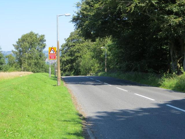 High Bank Lane above Moorhead, Shipley