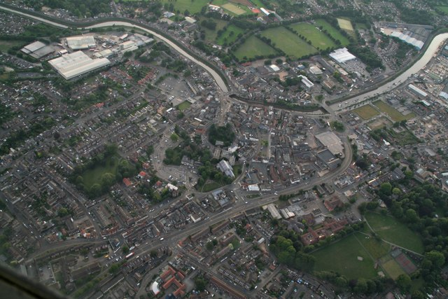Wisbech: aerial 2017 (3)