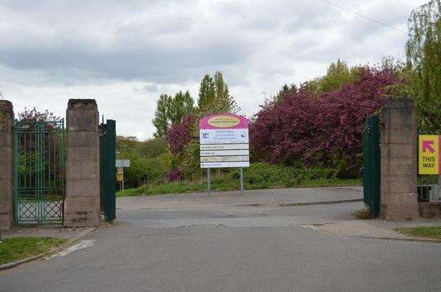 Entrance to Welsh Harp Environmental Centre