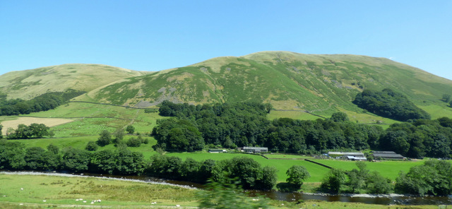 Blease Fell and the River Lune