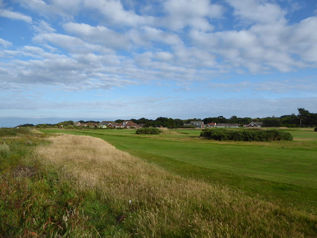 Overstrand from the golf course
