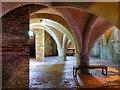 SU3226 : Mottisfont Abbey Cellarium by David Dixon