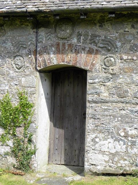 St Pabo's Church - doorway
