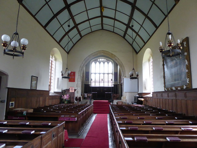 Inside St Peter, Ashburnham (b)