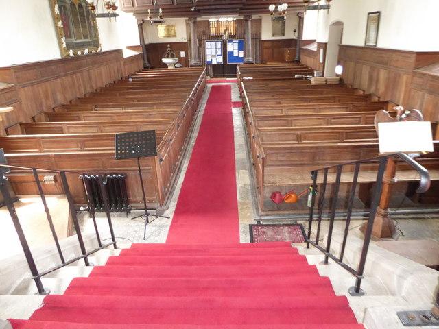 Inside St Peter, Ashburnham (d)