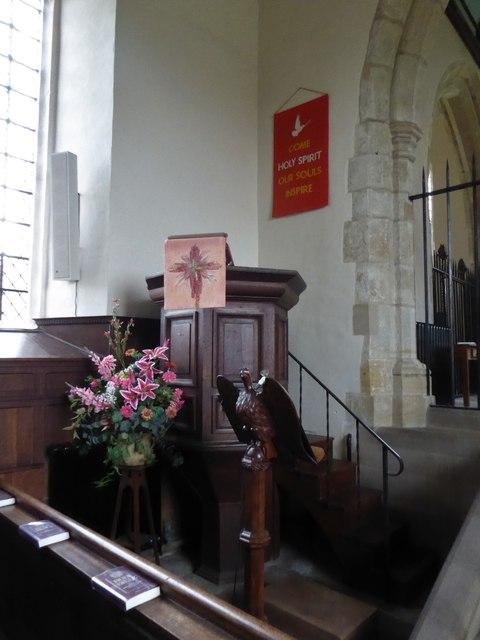 Inside St Peter, Ashburnham (l)