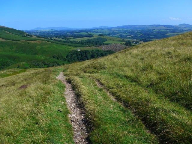 The path to Dollar Glen