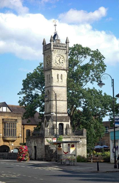 Clock tower, Fisherton Street, Salisbury