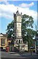 SU1429 : Clock tower, Fisherton Street, Salisbury by Jim Osley