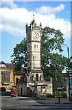 SU1429 : Clock tower, Fisherton Street, Salisbury by Julian Osley