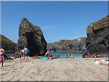 SW6813 : The Bellows, Kynance Cove, Cornwall by Gary Rogers