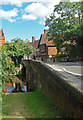SU1429 : Crane Bridge, Salisbury by Julian Osley