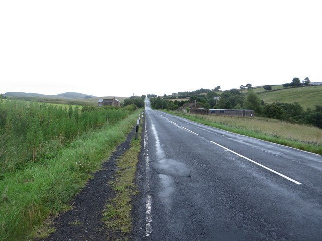 The B6318, north of Haltwhistle