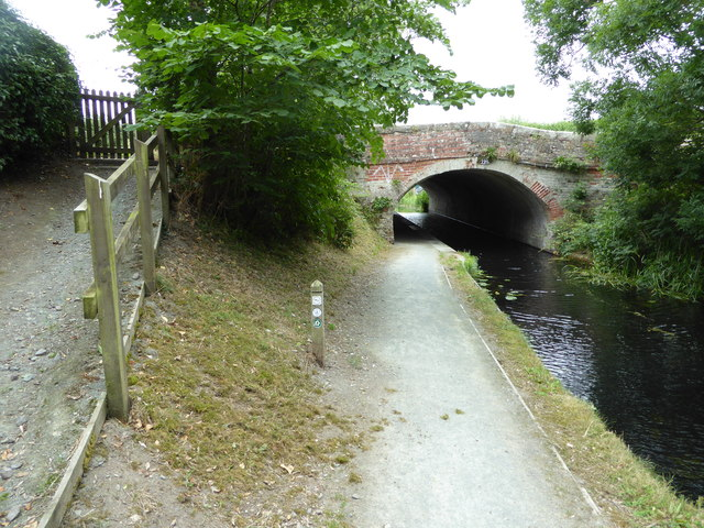 Bridge over the Montgomeryshire Canal near Berriew