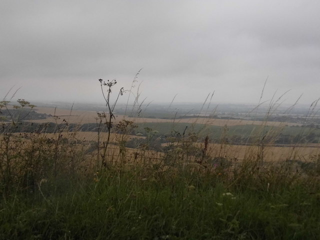 View from Bison Hill, Whipsnade