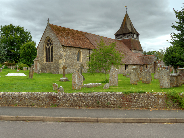 The Church of St Peter and St Paul, King's Somborne