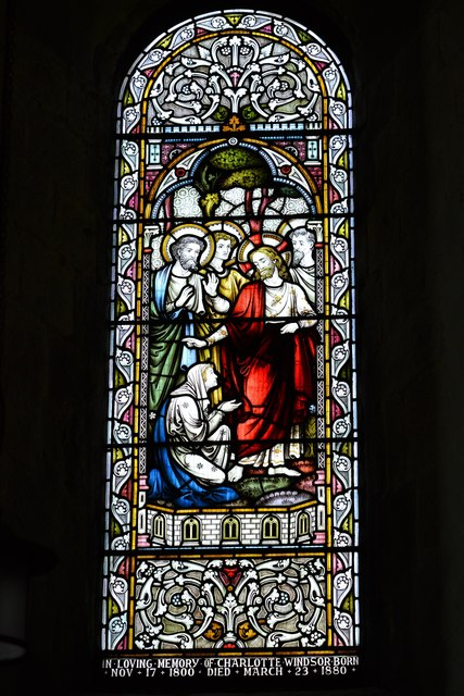Stewkley, St. Michael's Church: Stained glass window