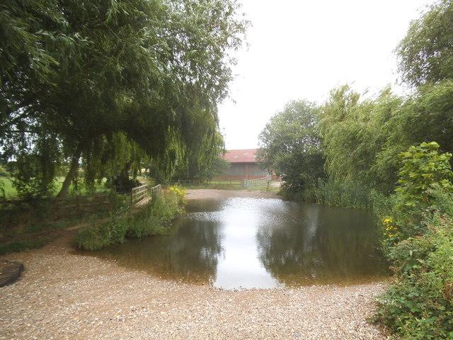 Pond at Redbournbury Mill