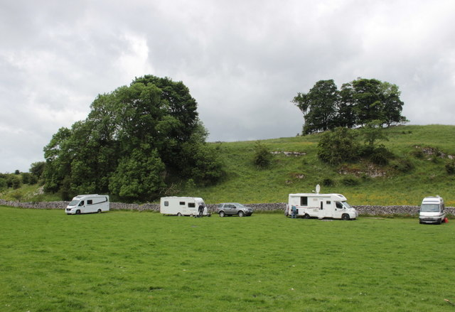 Caravans at Bank Top Farm Hartington