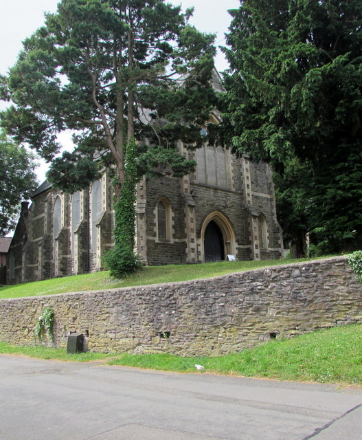 Grade II listed Bethania Church, Old St Mellons, Cardiff