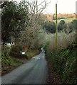 SX1072 : Lane to Waterloo by Derek Harper