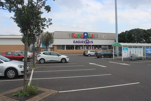 Drumoyne, Superstore carpark
