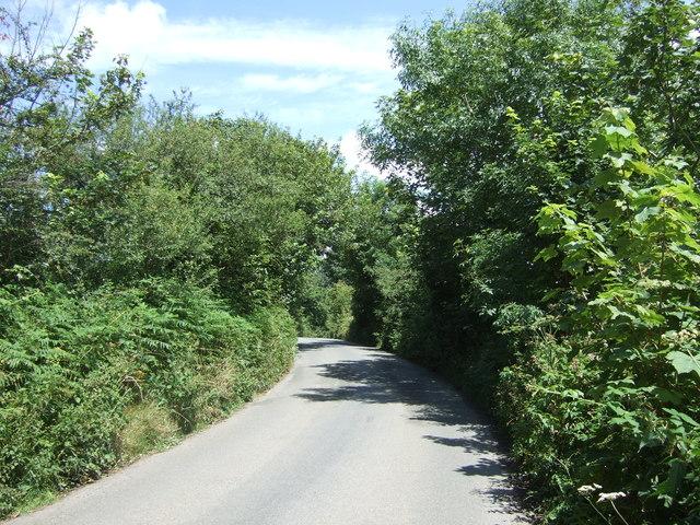 Minor road towards Eathorne