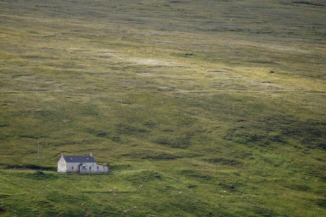 House at Laggans, Baliasta from Crussa Field