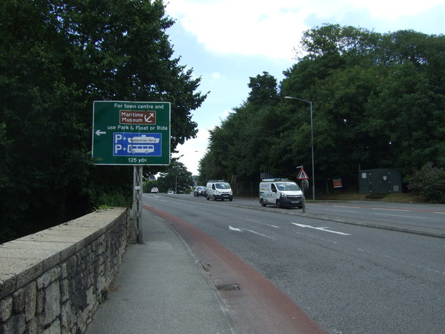 Falmouth Road (A39)